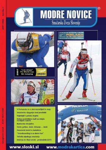 leto 2007/2008, Å¡tevilka 1 - Modra kartica