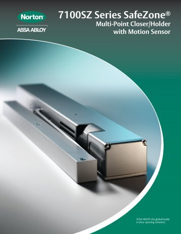 Norton Safe Zone 7100 Series - Access Hardware Supply