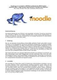 Expedition Moor: Junge Forscher experimentieren ... - MoodleMoot