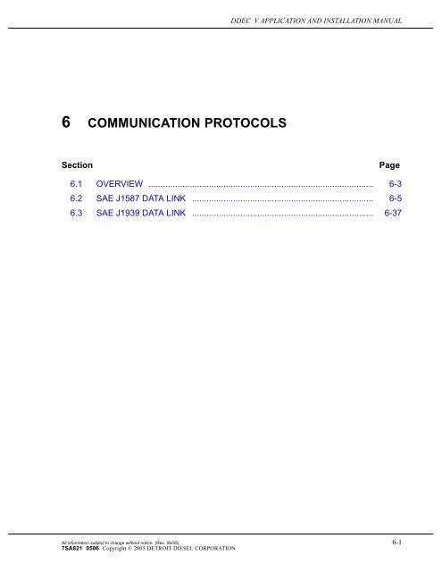 Chapter 6 - Communication Protocols - ddcsn