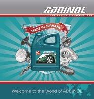fully synthetic - Addinol