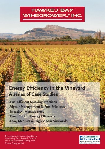 Hawkes Bay Winegrowers Booklet