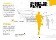 Kom Godt i mål som Kommunal byGherre - Byggeriets Evaluerings ...