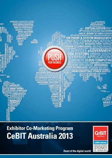 Exhibitor Co-Marketing Program - CeBIT Australia