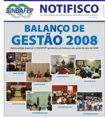 Nesta edição especial, o SINDAFEP apresenta um balanço das ...