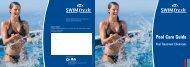 Swimfresh Pool Care Guide - The Swimming Pool Store