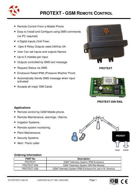 PROTEXT - GSM R - DigiKey
