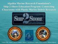 Ship-2-Shore Education Programs - Algalita Marine Research ...