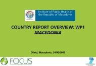 Macedonia - Focus-Balkans
