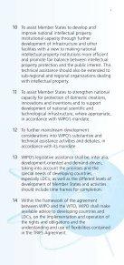 WIPO Development Agenda - Page 5