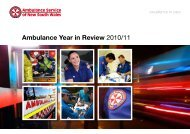 Ambulance Year in Review 2010/11 - Ambulance Service of NSW