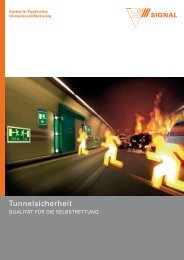 Tunnelsicherheit - Signal AG