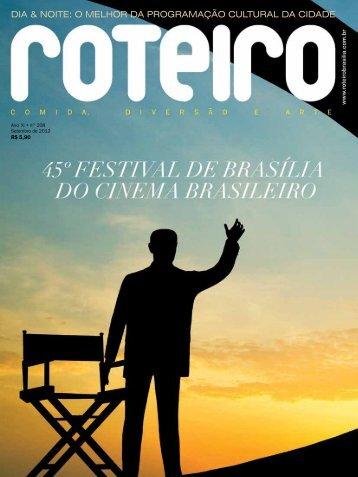 dia & noite: o melhor da programação cultural da ... - Roteiro Brasília