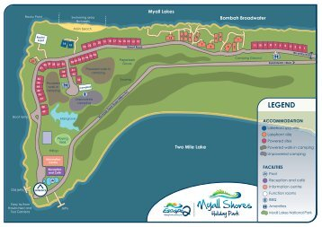 LEGEND - Myall Shores Holiday Park