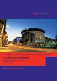 Edinburgh - the European Society of Endodontology
