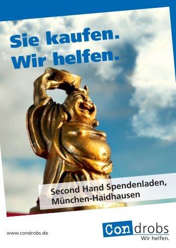 Second Hand Spendenladen - Condrobs e.v.