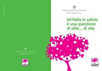 Un'Italia in salute è una questione di stile... di vita - CCM Network