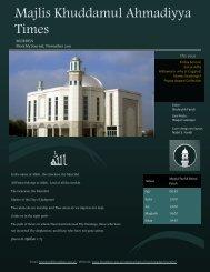 اهلل - Majlis Khuddamul Ahmadiyya UK Majlis Khuddamul ...