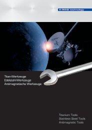 Titan-Werkzeuge Edelstahl-Werkzeuge Antimagnetische ...