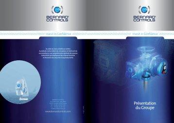 Présentation du Groupe (PDF - 3.8Mo) - Bernard Controls