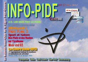 info PiDF 57 - Ligue Paris Ile de France de Vol Libre - Ffvl