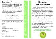 Netværket - Den lille turisme