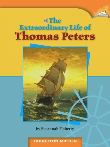 Lesson 14:The Extraordinary Life of Thomas Peters