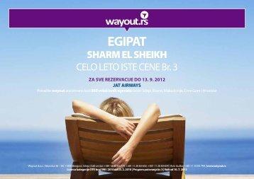 Egipat - SHARM EL SHEIKH - Wayout