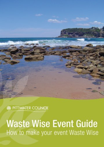 Waste Wise Event Guide - Pittwater Council