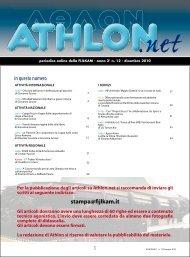 Athlon Net dicembre 2010 - Fijlkam