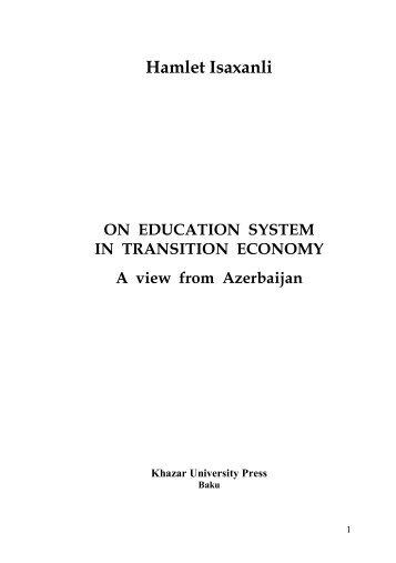 on education system_Isaxanli.pdf - DSpace at Khazar University