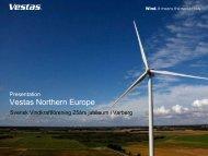 Vestas Northern Europe - CMS Office