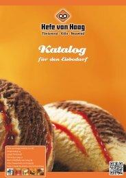 Katalog - Hefe van Haag GmbH & Co