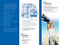 Psychological Services - Delnor Hospital