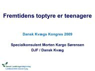 Dansk Kvæg kongres, Tema 2, Genomisk selektion ... - LandbrugsInfo
