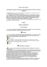 127/1991. (X. 9.) Korm. rendelet 2 - Abako