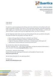Infobroschüre Erwachsenenschutzrecht - Quantica