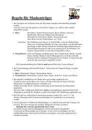 Verhaltensregeln für Maskenträger - Narrenzunft Äpfinger ...