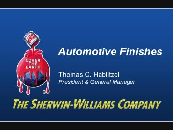 Automotive Finishes - Sherwin Williams