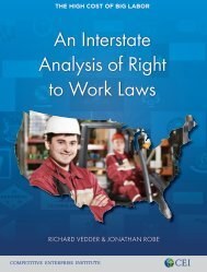 Richard Vedder and Jonathan Robe - An Interstate Analysis of Right to Work Laws (2)
