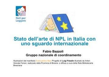 Stato dell'arte di NPL in Italia con uno sguardo internazionale Fabio ...