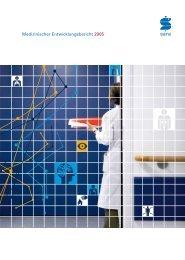 2 2 Medizinischer Entwicklungsbericht 2005