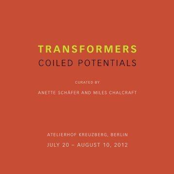 TRANSFORMERS - Transart Institute