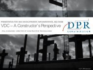 VDC – A Constructor's Perspective - Center for Integrated Facility ...