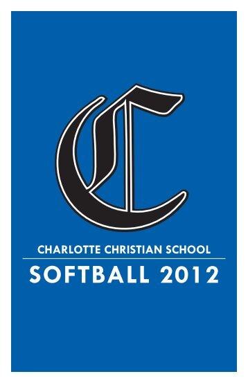 softball 2012 - Charlotte Christian School