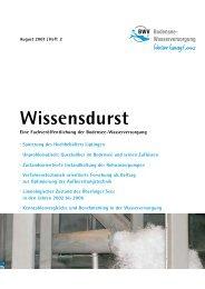Wissensdurst Ausgabe 2 - Zweckverband Bodensee ...