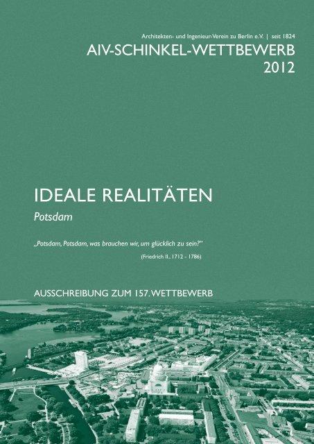 IDEALE REALITÄTEN - Architekten- und Ingenieur-Verein zu Berlin eV