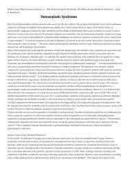 Paraneoplastic Syndromes - Cursuri Medicina