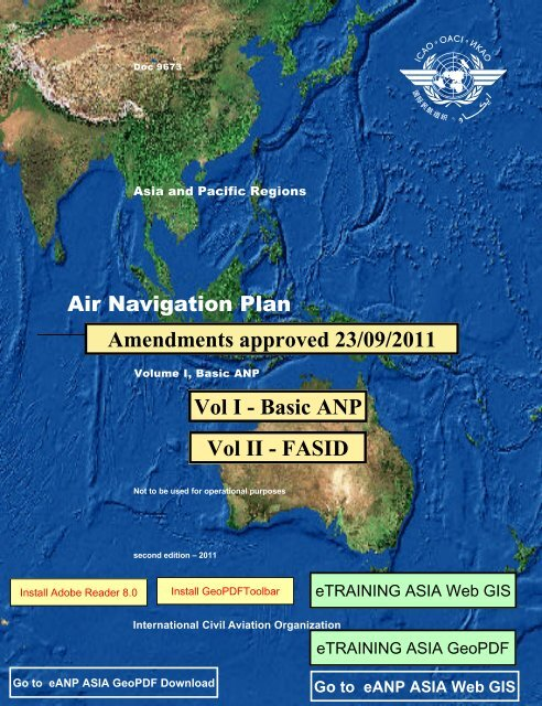 Africa-Indian Ocean Region - ICAO Public Maps