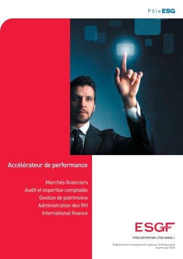 Accélérateur de performance - L'Etudiant